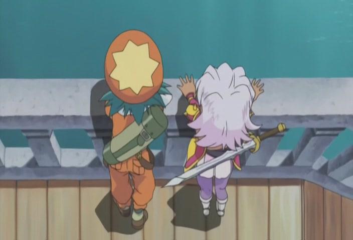 Shugo looks to Reena, gosh she's ...
